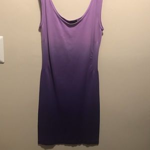 Dresses & Skirts - One size mini dress/stretch under slip